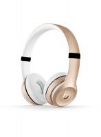 Beats by Dr Dre Solo3 Wireless On-Ear Headphones - Gold Photo