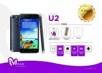 Mobicel U2 8GB 3G - Space Grey Cellphone Photo