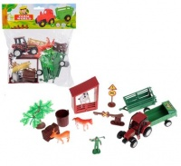 Bulk Pack 4 x Boys Farm Playset With Tractor Accessories & Bag Photo