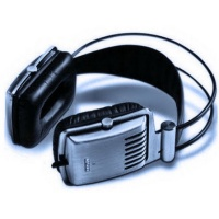 Krator Dione C-1140S Hi-Fi Headphones Silver Photo