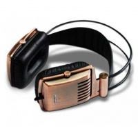 Krator Dione C-1140 Hi-Fi Headphones Copper Photo