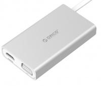 Orico Type-C HDMI/VGA/RJ45/USB3 Docking Station Photo