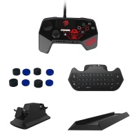 Sparkfox PS4 Bundle - Chatpad|Charging Station|Thumb Grip|Stand| Controller Photo