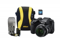 Nikon B500 Ultra Zoom Digital Camera Value Bundle Photo