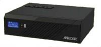 Mecer 1200VA 720W 12V DC-AC Inverter with LCD Display and Socket for Solar Power - IVR-1200LBKS Photo
