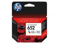 HP 652 Tri-color Original Ink Advantage Cartridge Photo