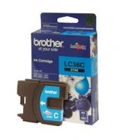Brother LC-38C Cyan Ink Cartridge Photo