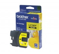 Brother LC-38Y Yellow Ink Cartridge Photo