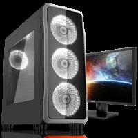 AMD RYZEN 7 1700 3.7GHz GeForce GTX1050 Ti Pro Gaming PC Photo