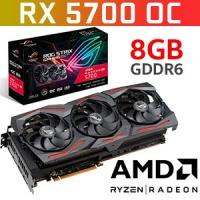 ASUS ROG Strix Radeon RX 5700 OC Edition 8GB GDDR6 Graphics Card / 2304 Stream Processor / FanConnect 2 / Aura Sync / AMD Radeon FreeSync™ / ROG-STRIX-RX5700-O8G-GAMING Photo