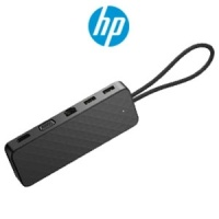 HP Spectre USB-C Travel Dock / USB-C Laptop Port Required / 15.71-inch cable / Connect to multiple accessories / 2SR85AA Photo