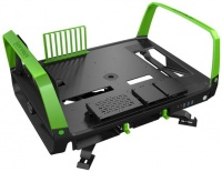 In Win In-Win X-Frame 2.0 Black & Green E-ATX Open Frame Chassis Photo