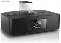 Philips AJ7260D Dual Dock Triple Charging Clock Radio Photo