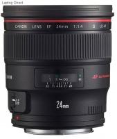 Canon EF 24 mm f 1.4L 2 USM Camera Lens Photo