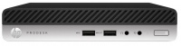 HP ProDesk 400 G3 Core i5-7500T 3.3GHz 500GB Desktop Mini PC with Windows 10 Pro 64-bit Photo