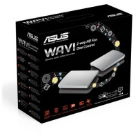 Asus Wavi - 2-way HD PC content streaming media center 2-way control wireless USB upto 25m at 5Ghz 1080P full HD with 3D blu-ray support transmitter : USBHDMi receiver : 2x USBUTPHDMi 4x5 on-board MiM Photo