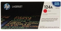 HP 124A Magenta LaserJet Toner Cartridge Photo