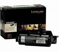 Lexmark 64016HE Black High Yield Laser Toner Cartridge Photo