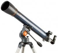 Celestron AstroMaster 90AZ 90mm Refractor Telescope Photo