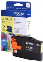 Brother LC77XL-Y Yellow Ink Cartridge Photo