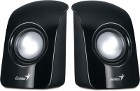 Genius SP-U115 2.0 Speakers - Black Photo