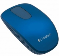 Logitech T400 Zone Touch Wireless Mouse - Midnight Berry Photo