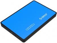 "Orico 2.5"" USB 3.0 Hard Drive Enclosure - Blue Photo"