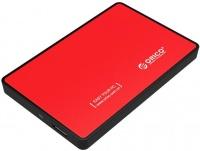 "Orico 2.5"" USB 3.0 Hard Drive Enclosure - Red Photo"