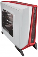 Corsair Carbide Series Spec-Alpha Windowed Mid Tower Chassis - White/Red PC case Photo