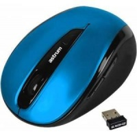 Astrum MW250 Wireless Optical Mouse - Blue Photo