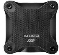 Adata SD600 series 256GB Portable External SSD - Black Photo
