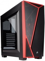 Corsair Carbide Series SPEC-04 Mid-Tower Gaming Case Black/Red PC case Photo
