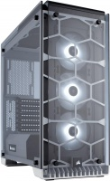 Corsair Crystal Series 570X RGB Mid Tower Chassis - White PC case Photo