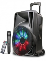 Astrum TM155 80W Multimedia Bluetooth Karaoke Smart Trolley Speaker Photo