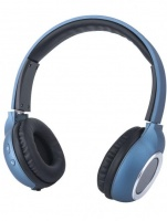 Astrum HT300 Wireless Over-Ear Headset With Mic - Blue Photo