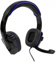 SparkFox SF1 Wired Headphones - Black/Blue Photo
