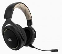 Corsair HS70 SE Wireless 7.1 surround Sound Gaming Headset - Black & Gold Photo