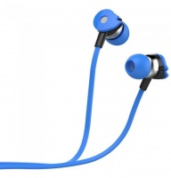 Astrum EB280 Wired Stereo Earphones with In-line Mic - Blue Photo