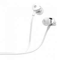 Astrum EB280 Wired Stereo Earphones with In-line Mic - White Photo