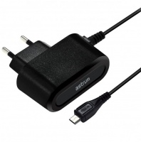 Astrum Mobile Wall Charger 2A with 1.5m Micro USB Cable - Black Photo