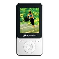 Transcend MP710 8GB White with Earphones  Photo