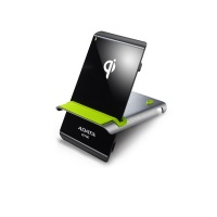ADATA CE700 Wireless Charging Stand Micro-USB Black and Green Photo