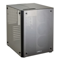 Lian Li PC-O8S WX Midi Tower Tempered Glass Front and Side Panel Black E-ATX PC case Photo