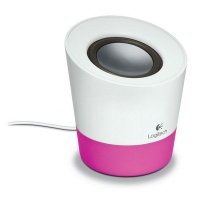 Logitech Z50 Single Channel 10w White with Pink Photo