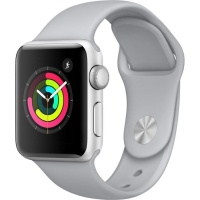 APPLE Watch Series 3 38mm Smartwatch (GPS Only Silver Aluminium Case Photo