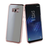 Samsung Muvit MLBKC0159 Cover Gold Rosewood mobile phone case Case Galaxy S8 Plus Rose Gold 60g Photo