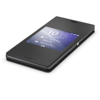 Sony 1287-5637 Folio Black mobile phone case Style Cover Stand Xperia Z3 Photo