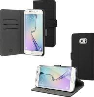 Samsung Muvit MUSNS0230 Folio Black mobile phone case Wallet Case 3 Slots Galaxy S6 Edge Plus Photo