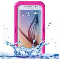 Samsung IPX8 Waterproof PVC Case with Touch Responsive Front for Galaxy S6 Photo