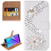 Samsung S Line Diamond Encrusted Pattern Horizontal Flip Leather Case with Holder & Card Slots for Galaxy Note 5 / N920 Photo